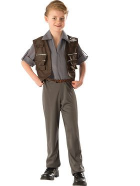 Jurassic World Deluxe Owen Boy's Costume