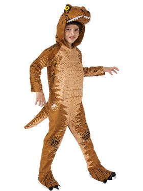 Jurassic World: Fallen Kingdom T-Rex Over-Sized Jumpsuit for Children costume