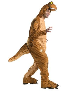 Jurassic World: Fallen Kingdom Mens Adult Oversized T-Rex Jumpsuit