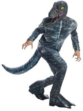 Jurassic World: Fallen Kingdom Velociraptor Costume for Mens