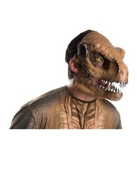 Jurassic World: Fallen Kingdom Tyrannosaurus Rex Movable Jaw Mask for Adult,