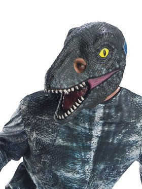 Jurassic World: Fallen Kingdom Velociraptor Mask for Adults