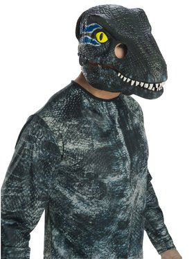 Jurassic World: Fallen Kingdom Velociraptor Movable Jaw Mask for Adult