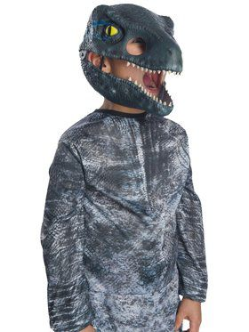 Jurassic World: Fallen Kingdom Velociraptor Movable Jaw Mask for Children