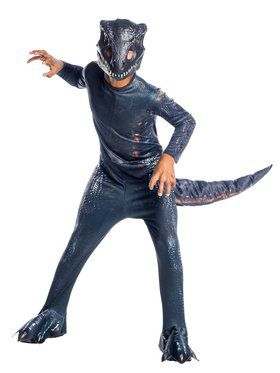 Jurassic World: Childrens Fallen Kingdom Villain Dinosaur Costume