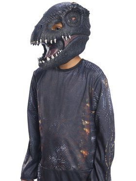 Jurassic World: Kids Fallen Kingdom Villain Dinosaur Kids Mask