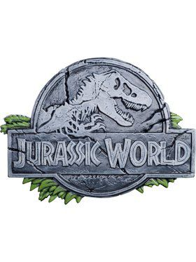 "Jurassic World ""Jurassic World"" Vacuform Prop Sign"