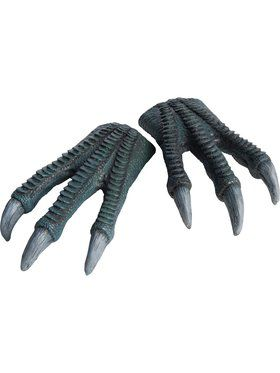 Jurassic World Kids Blue Latex Hands Accessory