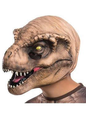 Jurassic World: T-Rex 3/4 Mask For Children
