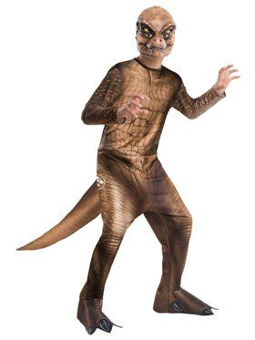 Jurassic World T-Rex Boys Costume