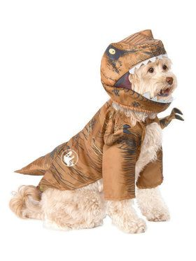 Prehistoric Jurassic World T-Rex Pet Costume