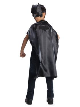 Justice League Batman Cape and Mask Set for Halloween