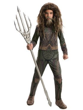Justice League Aquaman Costume For Children