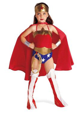 Justice League DC Comics Wonder Woman Costume For Children