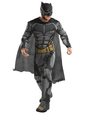Justice League Deluxe Tactical Batman Adult Costume