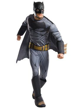 Adult Justice League Movie Batman Costume Deluxe For Adults