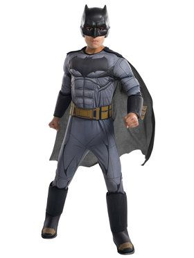 Justice League Movie Batman Costume Deluxe For Children