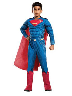 Justice League Movie Superman Costume Deluxe For Children