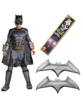 Justice League Movie - Tactical Batman Deluxe Children's Costume Kit
