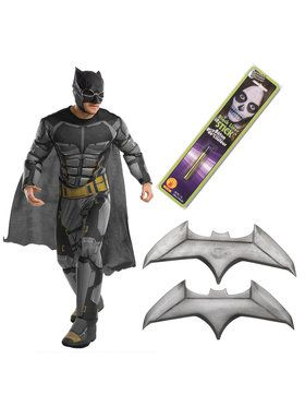 Justice League Movie - Tactical Batman Deluxe Mens Costume Kit