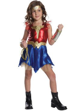Justice League Wonder Woman Dress Up Set for Halloween