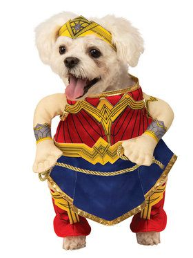 Pet Furry Friend Justice League Wonder Woman Costume