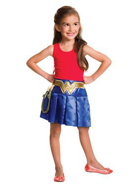Justice League Wonder Woman Pleated Skirt
