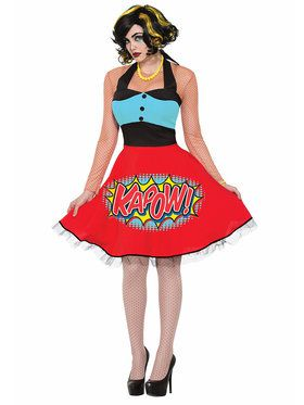 Kapow Dress Women's Costume