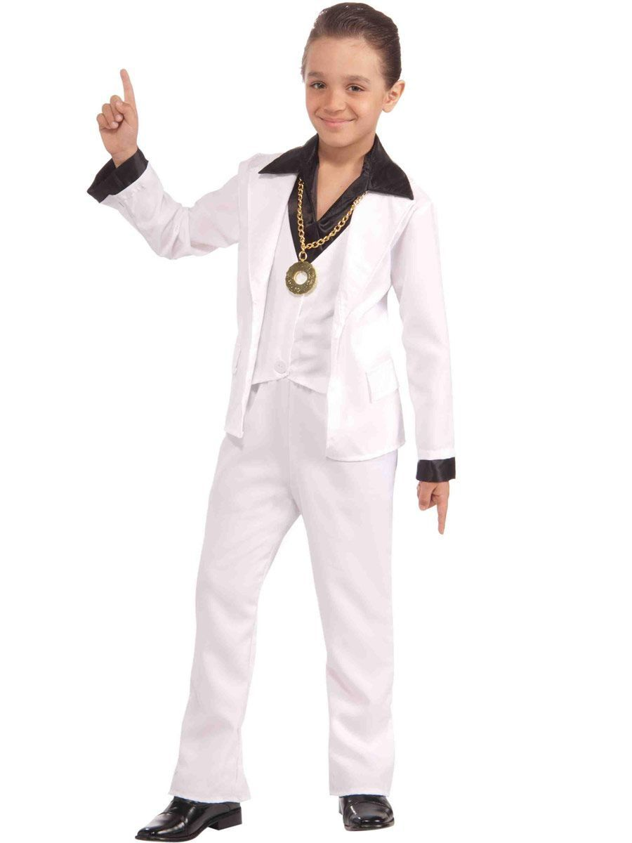 kids 70s disco fever costume
