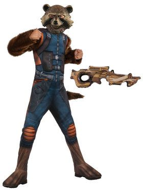 Kids Avengers Endgame Rocket Raccoon Costume Kit