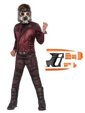 Kids Avengers Endgame Star Lord Costume Kit