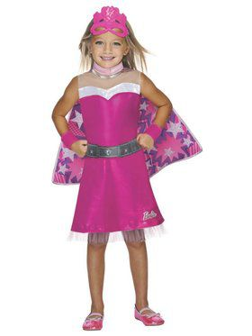 Super Sparkle Barbie Kids Costume