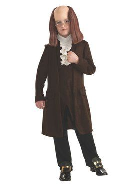 Benjamin Franklin Costume for Kids