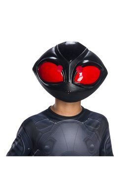 Black Manta 1/2 Mask for Kids
