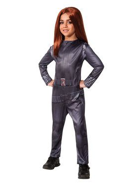 Black Widow Captain America Winter Soldier Costume