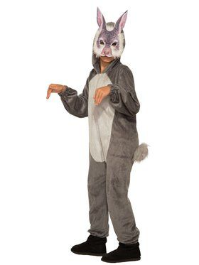 Bunny Jumpsuit with Mask Costume for Kids