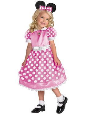 Kids Clubhouse Pink Minnie Mouse
