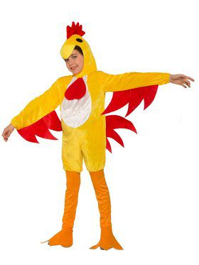 Clucky The Chicken Kidu0027s Costume  sc 1 st  Wholesale Halloween Costumes : chicken little halloween costumes  - Germanpascual.Com