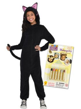 Black Comfy Cat Kit for Kids