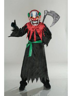 Crazy Clown Costume for Kids