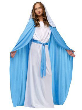 Kids Deluxe Mary Costume for Girls