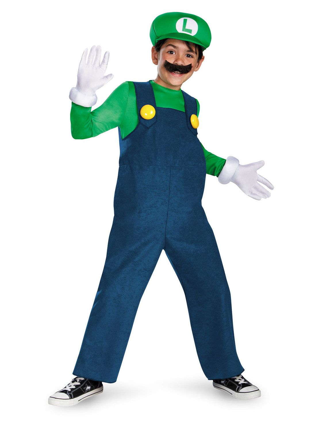 Kids Deluxe Super Mario Luigi Costume Boys Costumes For 2019