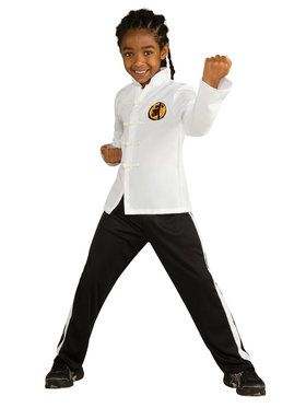 Kids Deluxe the Karate Kid Karate Suit Costume for Boys