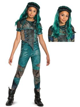 Kids Descendants Uma Costume Kit