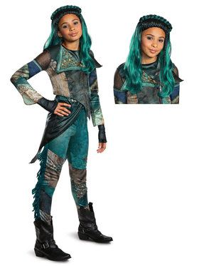 Kids Descendants Uma Deluxe Costume Kit