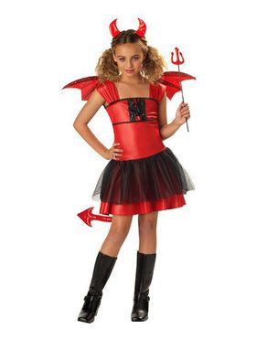 Kids Devil Darling Costume for Girls
