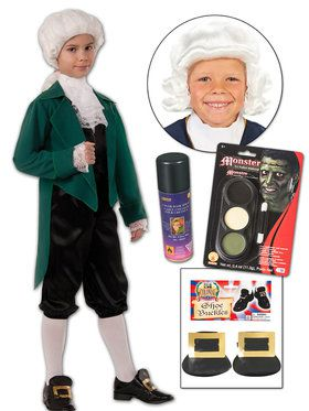 Colonial Zombie Character DIY Kit for Kids