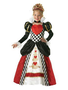 Kids Elite Queen of Hearts Costume
