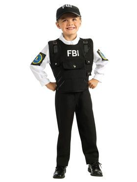 FBI Hero Agent Costume