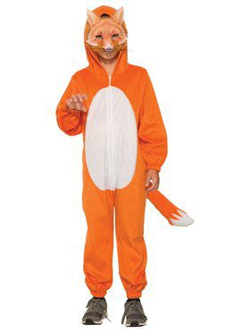 Fox Jumpsuit with Mask Costume for Kids